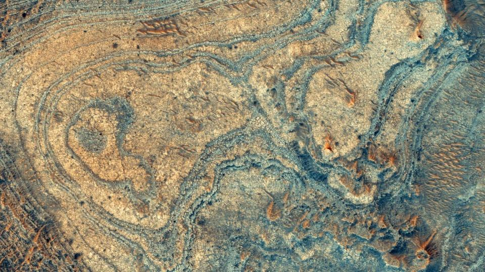"""""""Há algo estranho"""" no local de pouso do jipe-sonda Mars 2020 da NASA 1"""