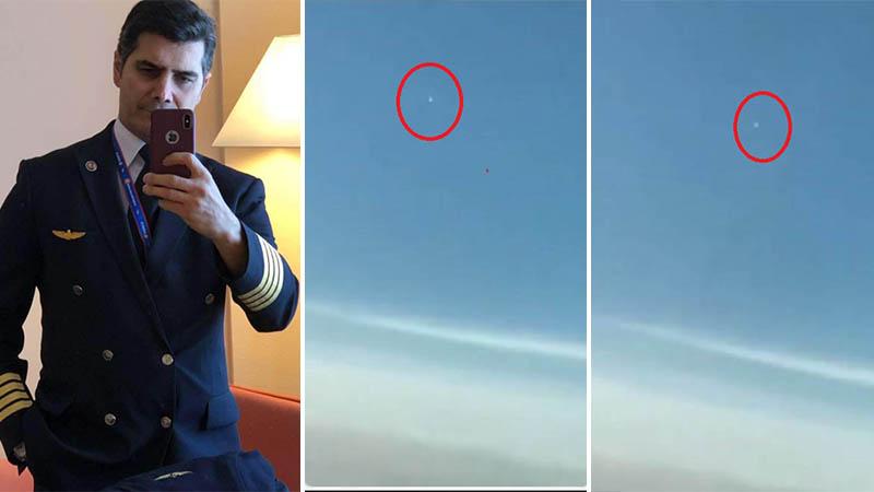 Piloto de empresa aérea turca filma OVNI / UFO