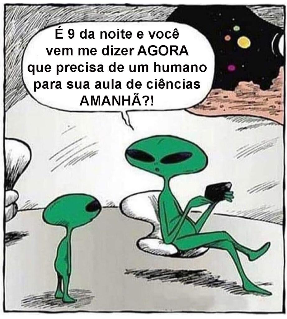 abduções alienígenas só acontecem à noite