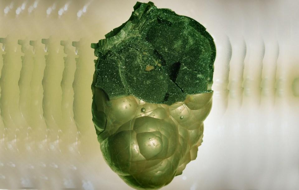 Coração alienígena petrificado foi mostrado por nativo norte americano