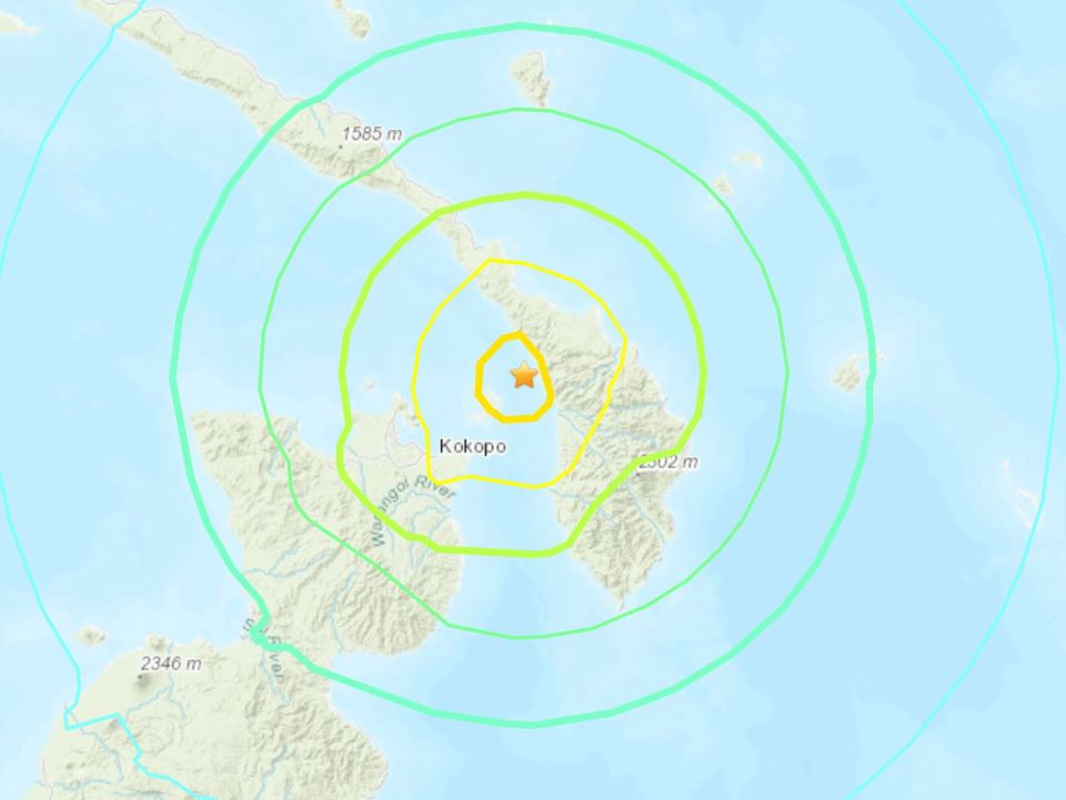 Grande terremoto atinge Papua-Nova Guiné