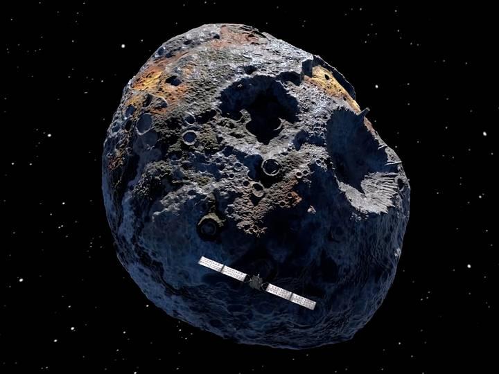 Asteroide repleto de ouro poderia transformar todos os habitantes da Terra em bilionários