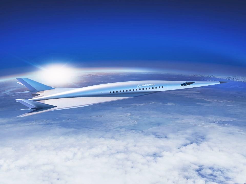 Jato comercial hipersônico da Boeing alcançará 6.300 km/h