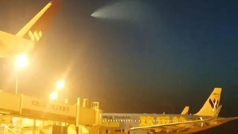 OVNI é avistado em toda a China em meio a exercício militar naval 1
