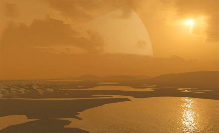 Margens de lago de lua de Saturno pode conter minerais estranhos