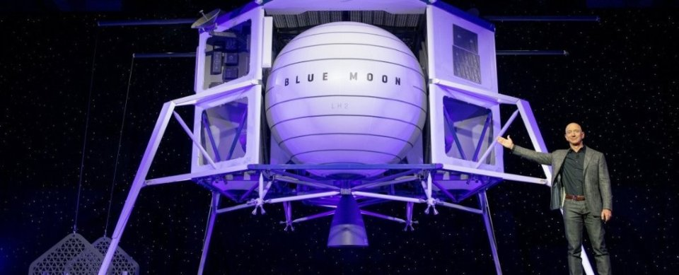 Dono da Amazon diz que colonizar a Lua é vital para a raça humana