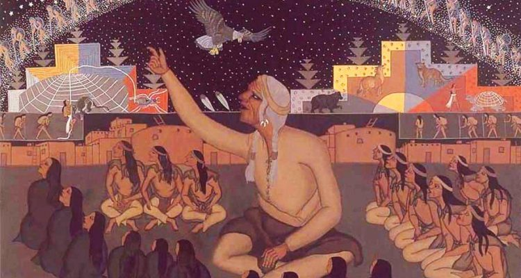 """""""Fui informado que há quatro espécies violentas no universo, os seres humanos é uma delas"""" - diz ancião nativo 1"""