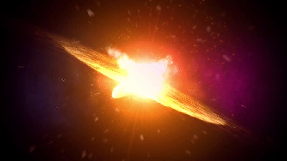 explosão de estrela fez com que humanos caminhassem eretos