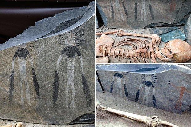 Arte de 5.000 anos atrás pode retratar alienígenas