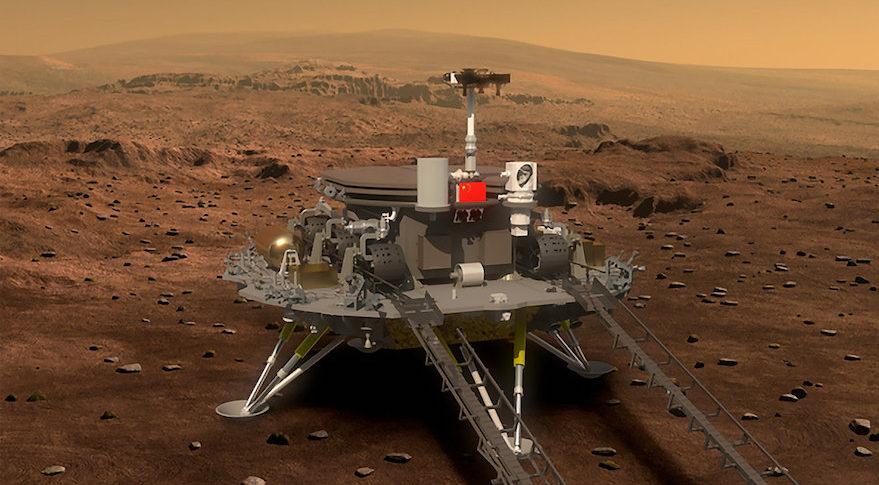 A primeira nave espacial da China para Marte em fase de integração para o lançamento em 2020 1