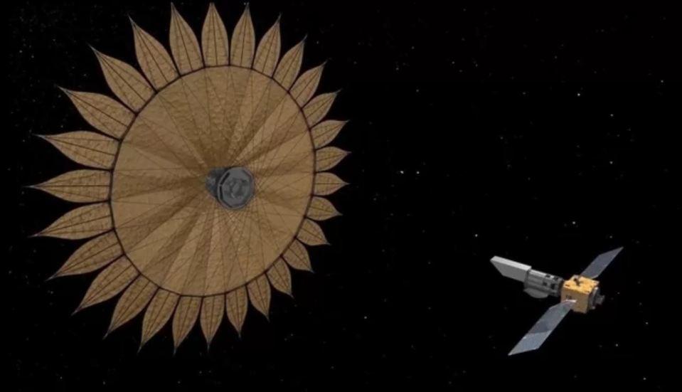 NASA planeja caçar planetas alienígenas com sombra gigantesca