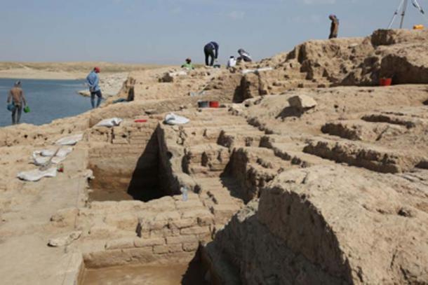 Seca no Iraque revela palácio de 3.400 anos de um império misterioso 1