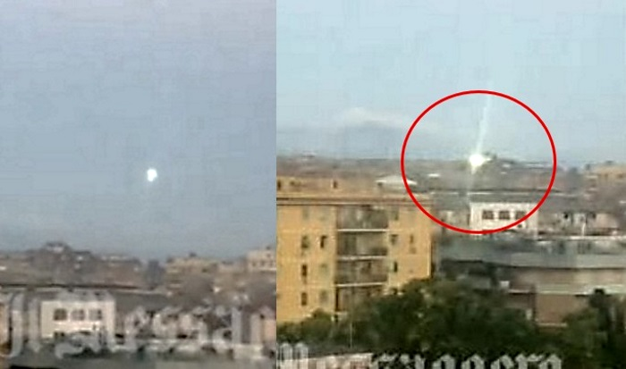 Atividade OVNI / UFO é filmada em Roma