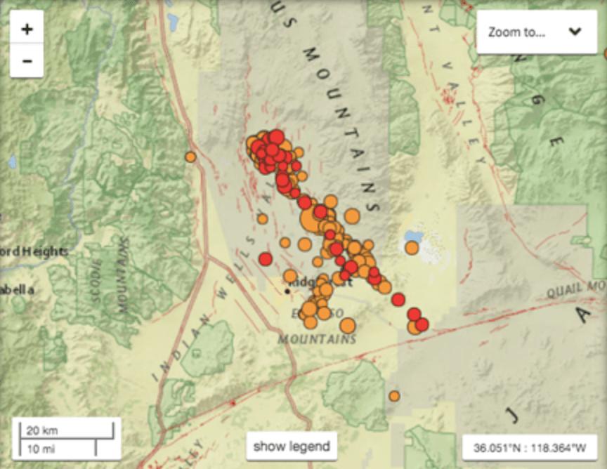 Onda de terremotos na Califórnia - mais estranha do que se imagina