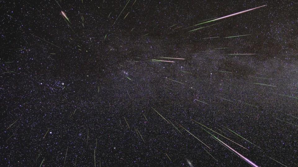 Até 25 meteoros a cada hora poderão ser vistos no Brasil nesta terça-feira