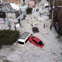 Inacreditável chuva de granizo atinge Guadalajara - México 25