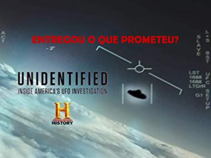 """A primeira temporada da série """"Unidentified"""
