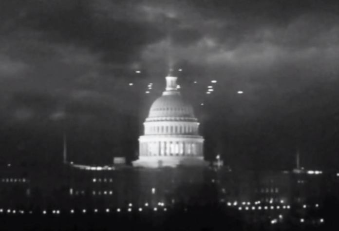 Vídeo autêntico dos OVNIs de Washington DC, em 1952