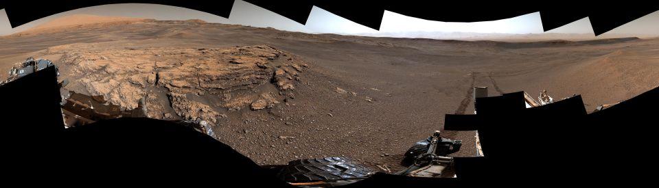 NASA encontra mais vestígios de rios e lagos em Marte