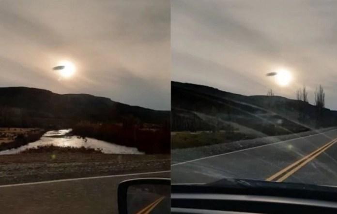 Foi votar e se deparou com um OVNI / UFO, na Argentina