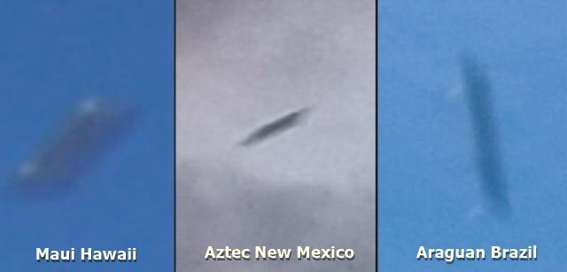 OVNIs retangulares são avistados no Brasil, México e Havaí