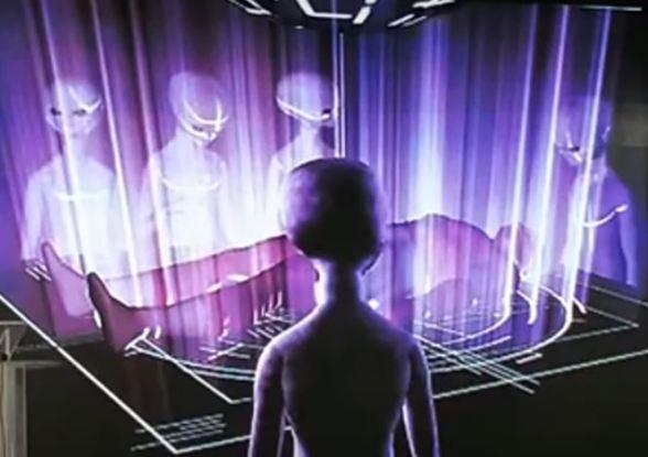 Experiências fora do corpo e presenças de extraterrestres