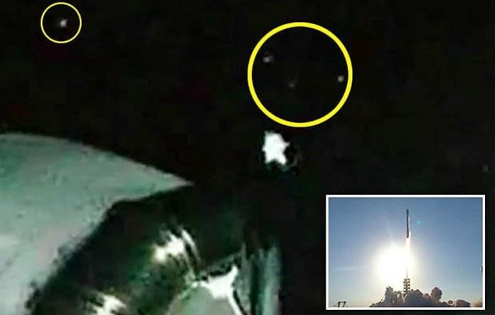 """Um OVNI é filmado """"ao vivo"""" durante lançamento da SpaceX"""