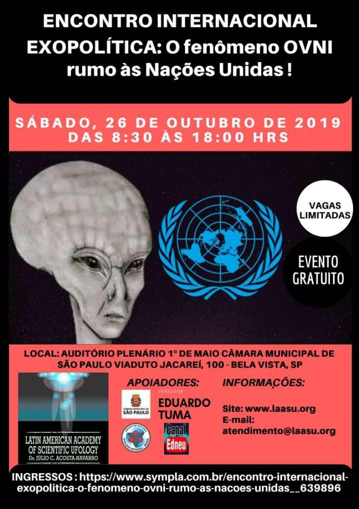 ENCONTRO INTERNACIONAL EXOPOLÍTICA