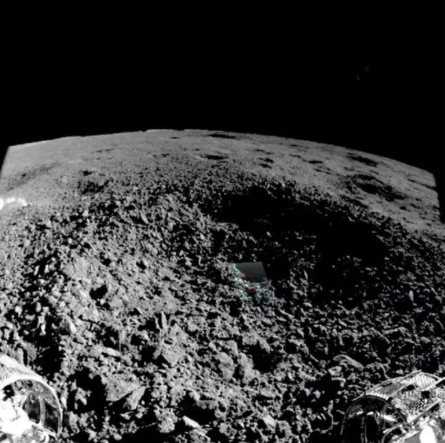China revela imagem do material misterioso encontrado na Lua