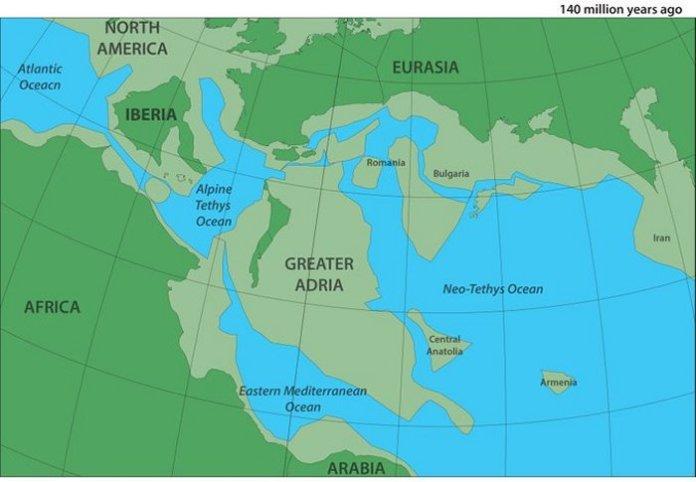 Grande Adria: Descoberto continente perdido abaixo da Europa
