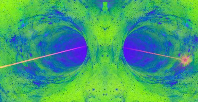 Novo laser pode fazer um buraco na realidade