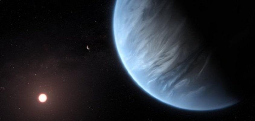 Água encontrada pela primeira vez em planeta potencialmente habitável