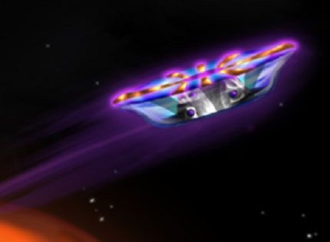 NASA agarrou patente de tecnologia OVNI movida a plasma