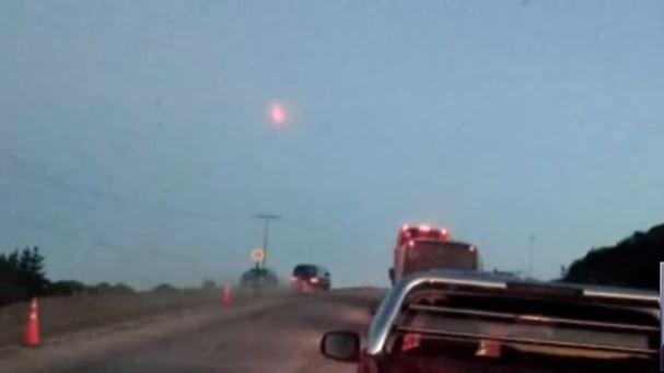 Ainda não sabem o que caiu do céu no Chile, causando 5 focos de incêndio