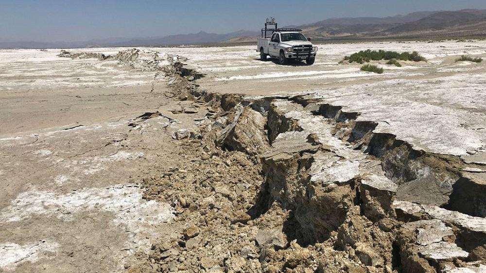 Detectado movimento em falha sísmica da Califórnia que estava dormente por 500 anos