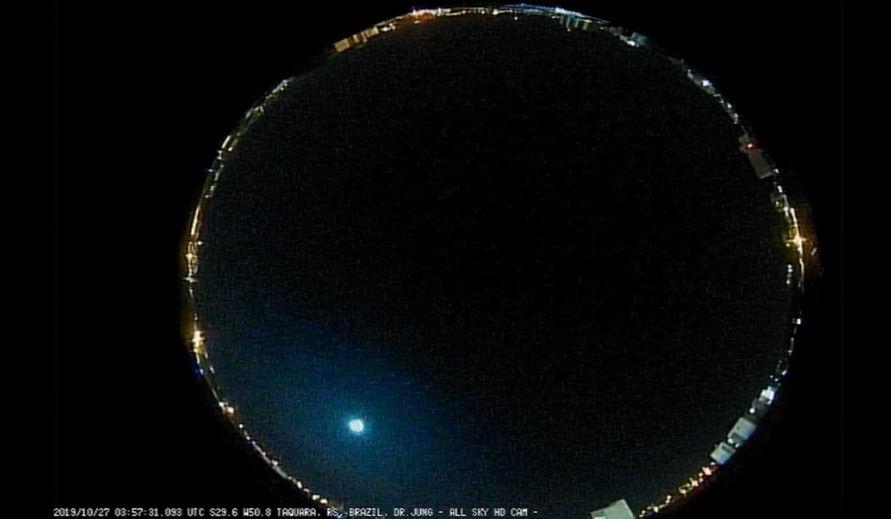 Mais um meteoro explode no céu do Rio Grande do Sul - Brasil