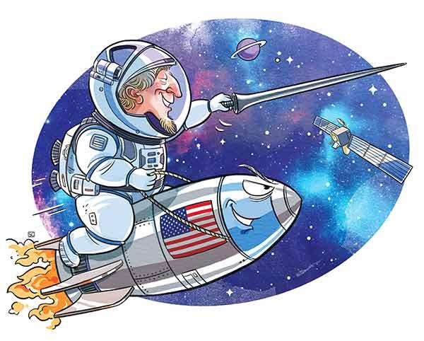 """Governo dos EUA está """"criando nova geração de guerreiros espaciais, doutrinando crianças"""""""