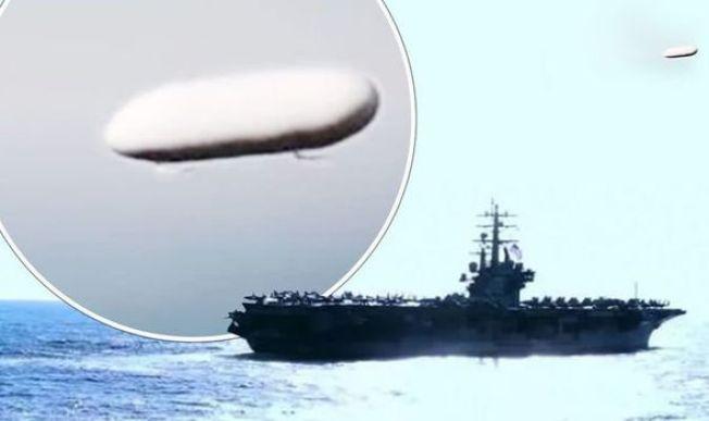 Relatório da Marinha dos EUA detalha encontro com OVNIs / UFOs