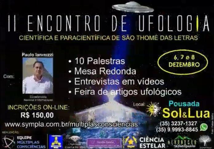 II Encontro de Ufologia Científica e Paracientífica de São Thomé das Letras