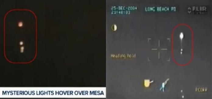 Luzes misteriosas no céu assustam moradores de cidade no Arizona - EUA