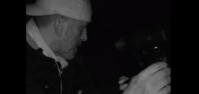 """Uma nova equipe de """"caçadores"""" de Bigfoot divulgou um video de uma criatura não identificada apanhada por uma câmera térmica."""
