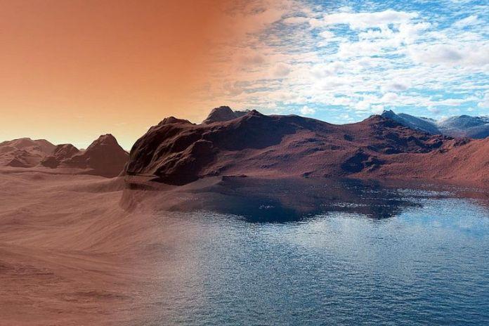 Água de Marte pode ter sido excelente para a vida
