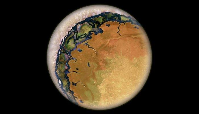 Planetas parecidos como globo ocular podem existir e terem vida prosperando