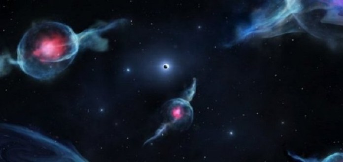 Objetos estranhos são vistos no núcleo da nossa galáxia