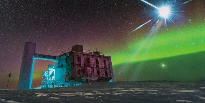 Sinais anômalos de alta energia estão sendo captados na Antártica