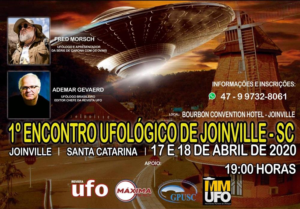 Primeiro Encontro Ufológico de Joinville - SC
