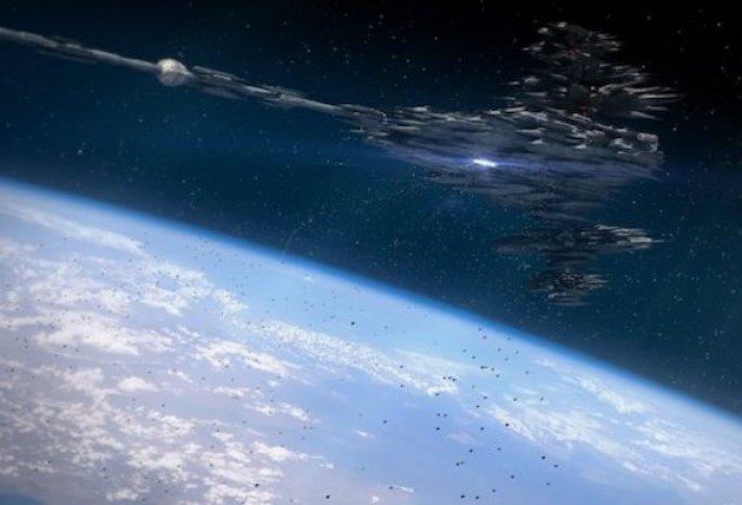 Teriam os russos encontrado uma nave alienígena acidentada em órbita?