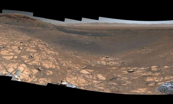 Jipe-sonda da NASA obtém panorama de Marte com 1.8 bilhão de pixels