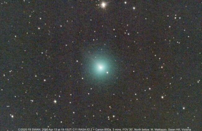 Cometa SWAN é descoberto, enquanto cometa Atlas morre