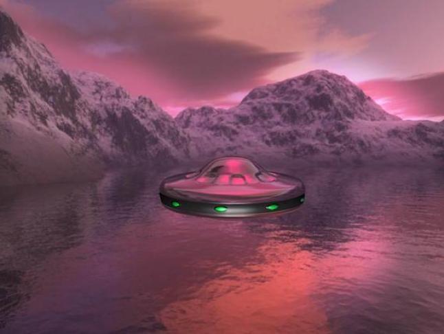 OVNIs e alienígenas em águas da Rússia